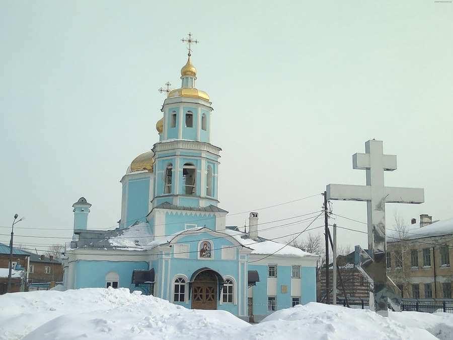 Церковь иконы Тихвинской Божией Матери