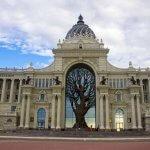 Дворец Земледельцев – самое красивое и современное здание Казани