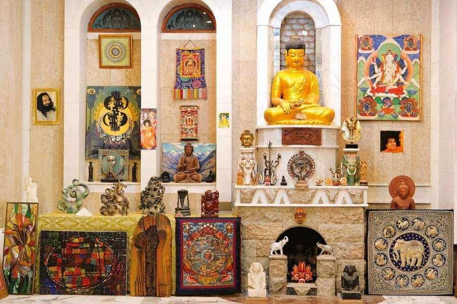 зал будды