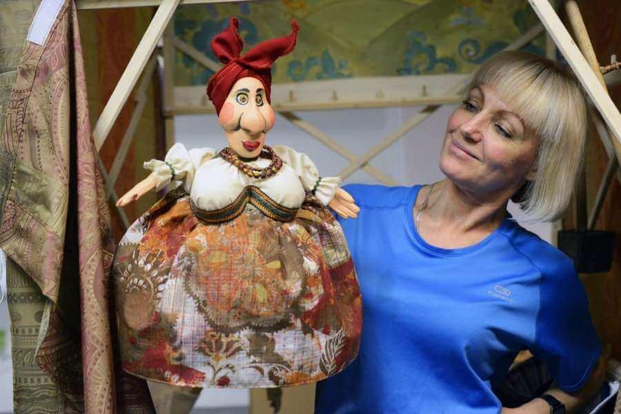 художница по созданию кукол